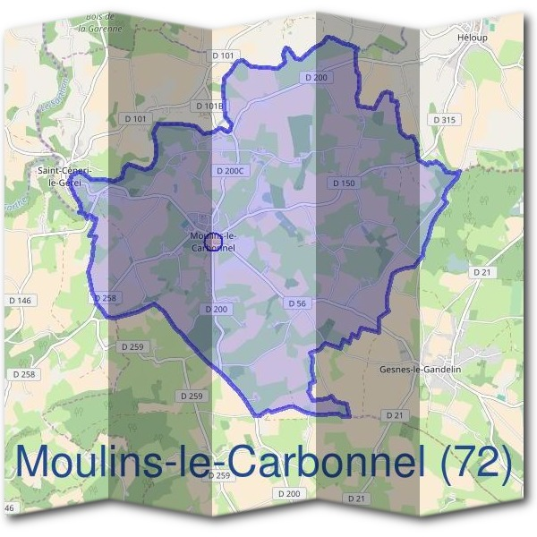 Mairie de Moulins-le-Carbonnel (72)