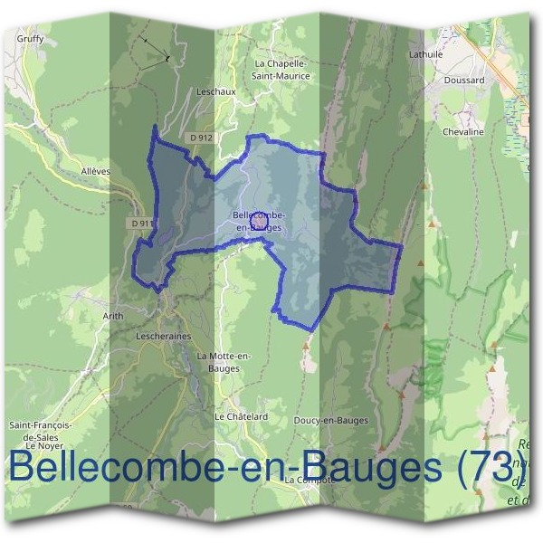 Mairie de Bellecombe-en-Bauges (73)