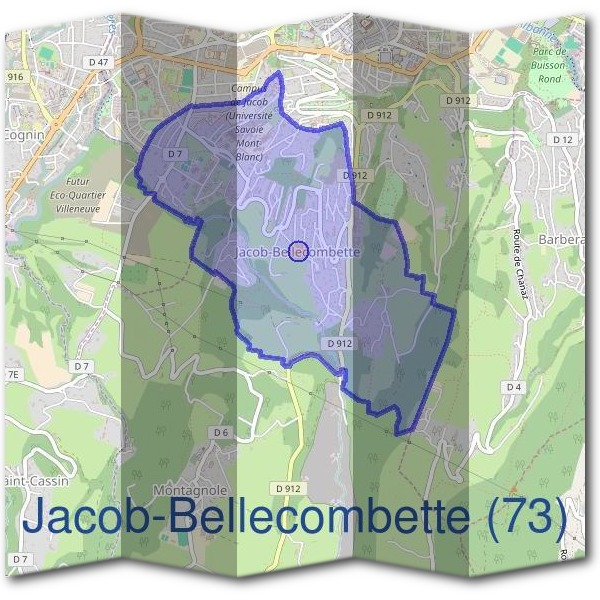 Mairie de Jacob-Bellecombette (73)
