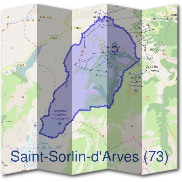 Mairie de Saint-Sorlin-d'Arves (73)