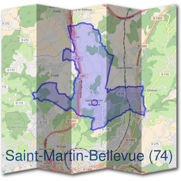 Mairie saint martin bellevue 74370 d marches en mairie - Horaire piscine bellevue ...