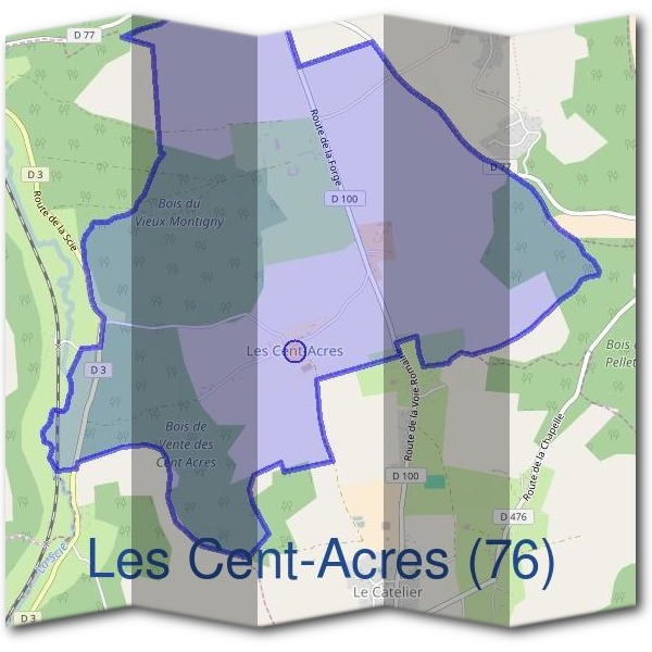 Mairie des Cent-Acres (76)
