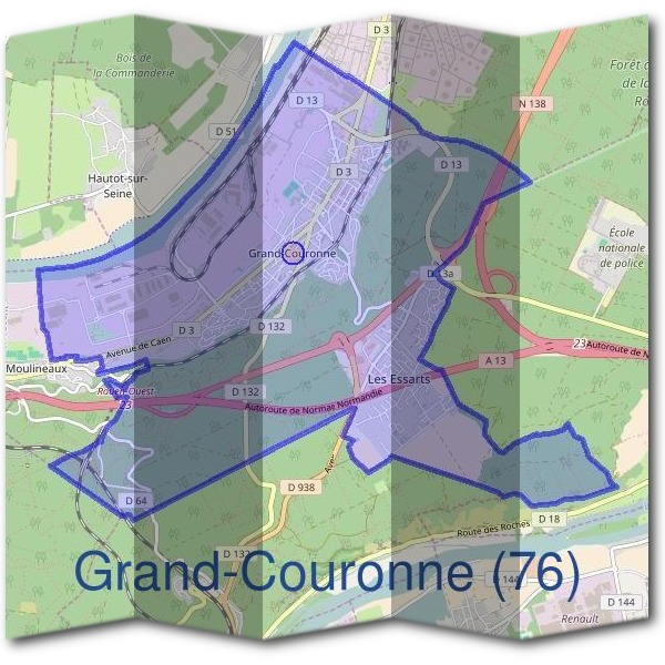 Mairie de Grand-Couronne (76)