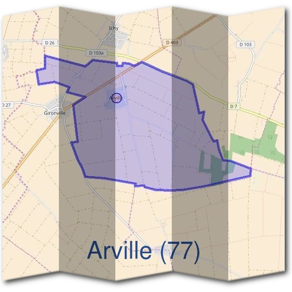 Mairie d'Arville (77)