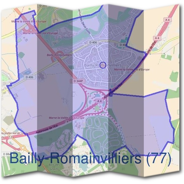 Mairie de Bailly-Romainvilliers (77)