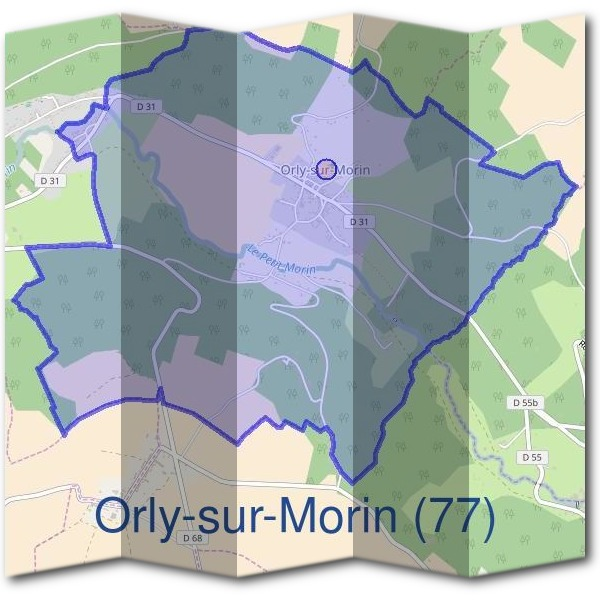 Mairie d'Orly-sur-Morin (77)