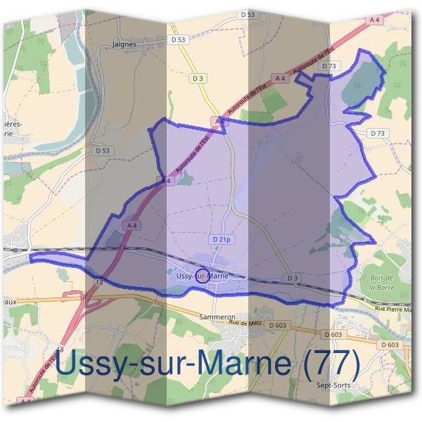 Mairie d'Ussy-sur-Marne (77)