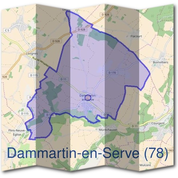 Mairie de Dammartin-en-Serve (78)
