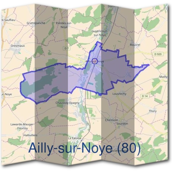 Mairie d'Ailly-sur-Noye (80)