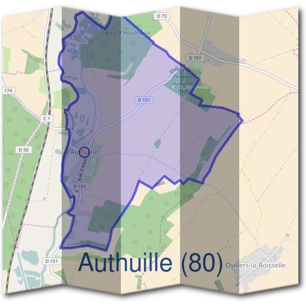 Mairie d'Authuille (80)