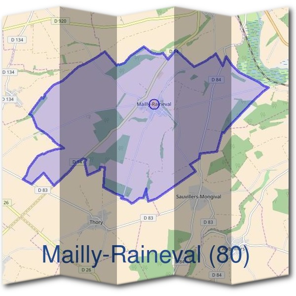 Mairie de Mailly-Raineval (80)