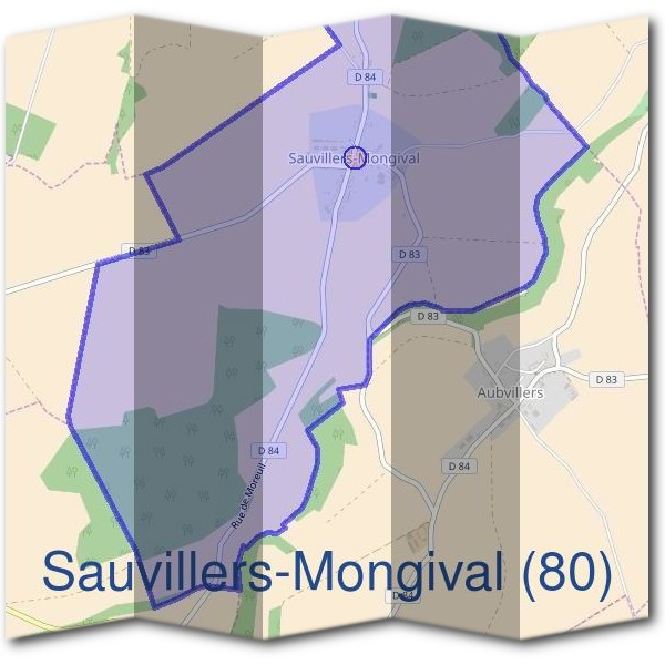 Mairie de Sauvillers-Mongival (80)