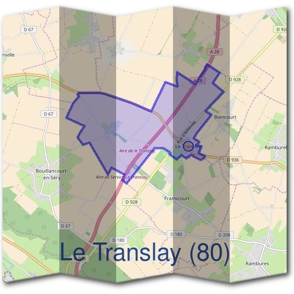 Mairie du Translay (80)