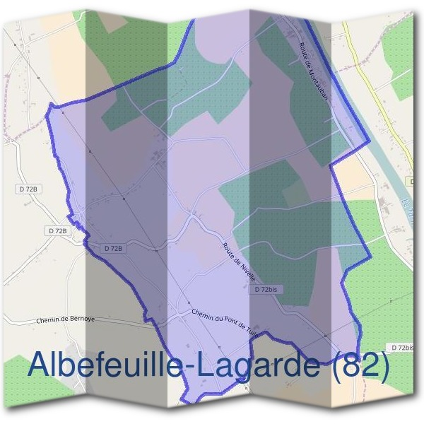 Mairie d'Albefeuille-Lagarde (82)