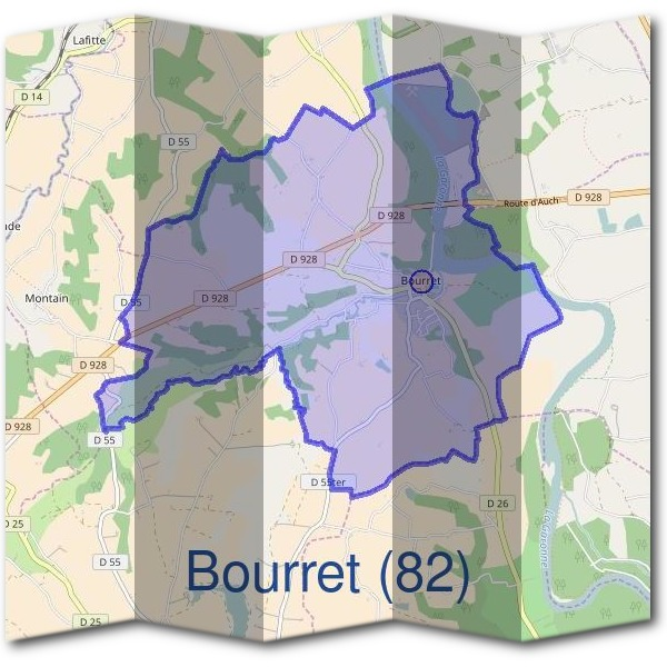 Mairie de Bourret (82)