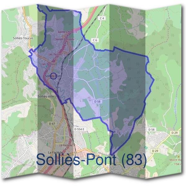 Mairie solli s pont 83210 d marches en mairie for Piscine sollies pont