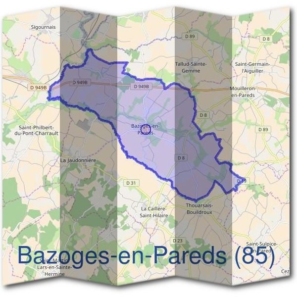Mairie de Bazoges-en-Pareds (85)
