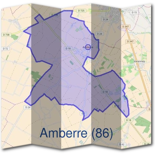 Mairie d'Amberre (86)
