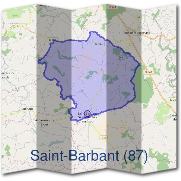 Mairie de Saint-Barbant (87)
