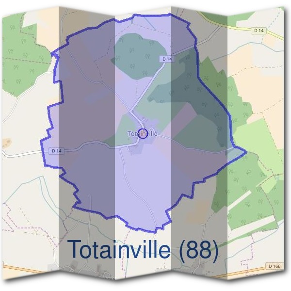 Mairie de Totainville (88)