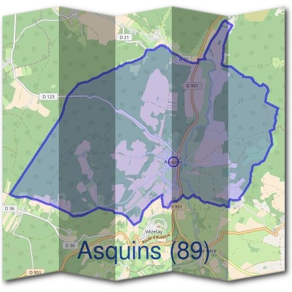 Mairie d'Asquins (89)