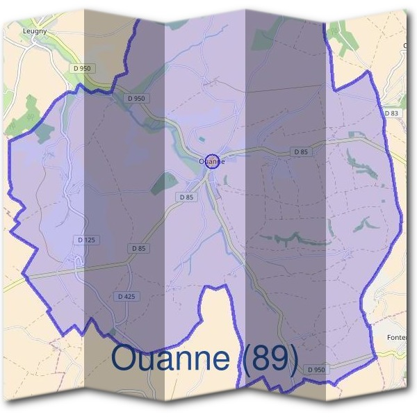 Mairie d'Ouanne (89)