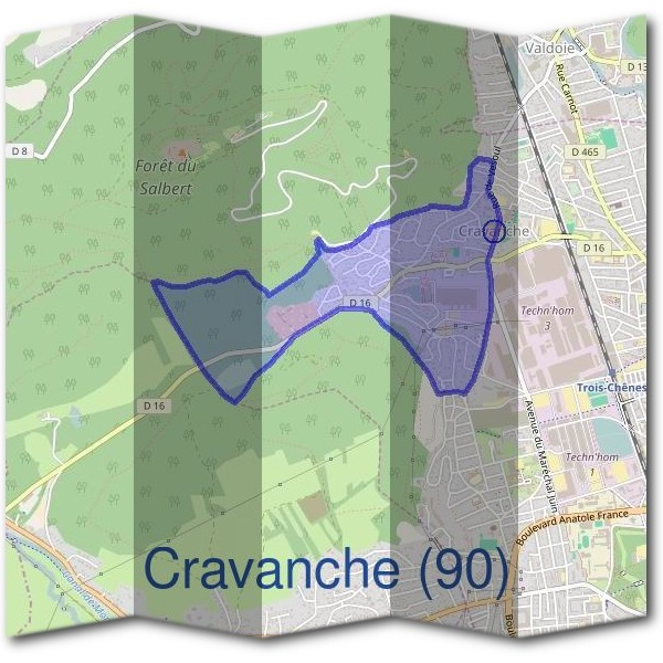 Mairie de Cravanche (90)