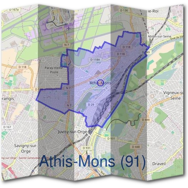 Mairie d'Athis-Mons (91)