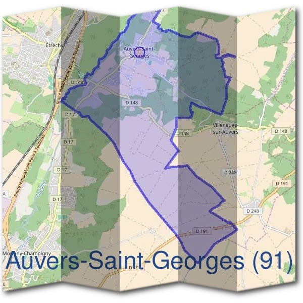 Mairie d'Auvers-Saint-Georges (91)