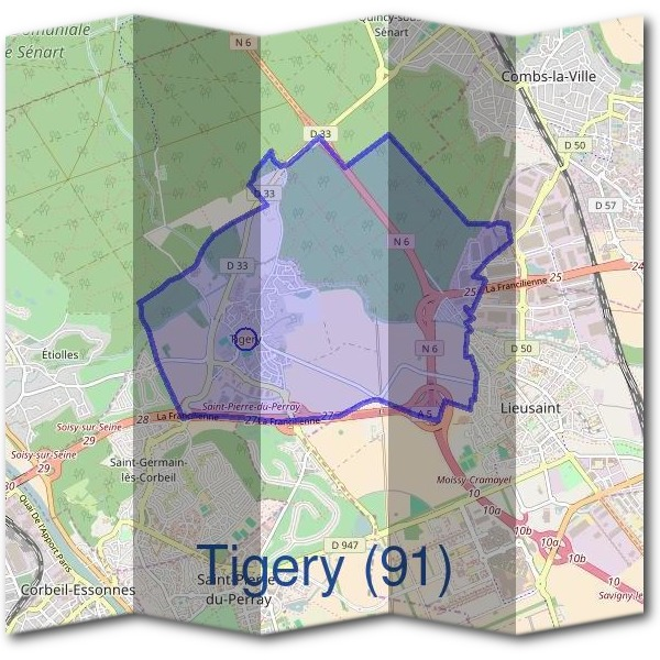 Mairie de Tigery (91)