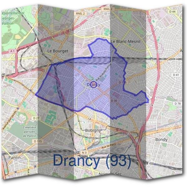 Drancy Mairie Adresse