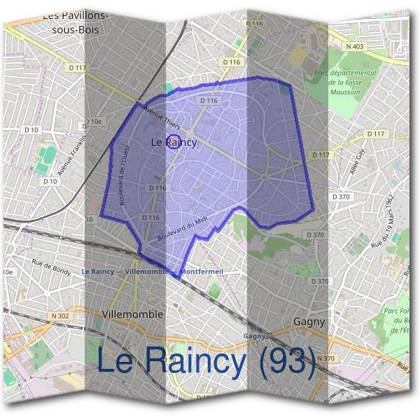 Mairie du Raincy (93)