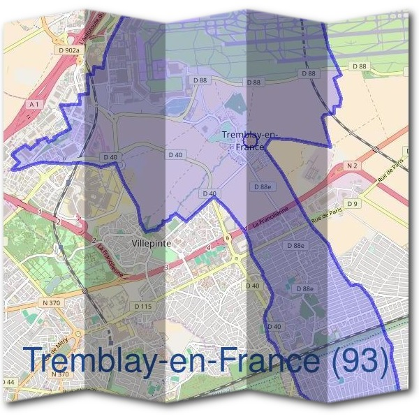 Mairie de Tremblay-en-France (93)