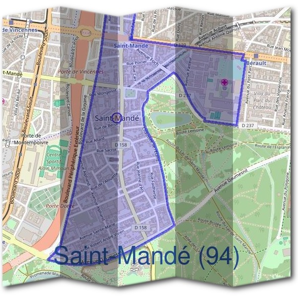 Mairie saint mand 94160 d marches en mairie - Piscine saint mande horaires ...