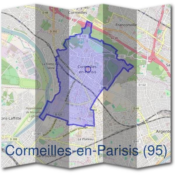 mairie cormeilles en parisis 95240 d marches en mairie. Black Bedroom Furniture Sets. Home Design Ideas