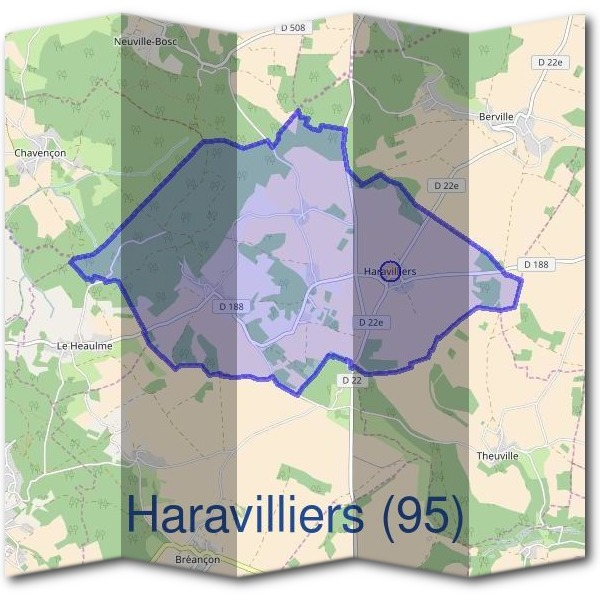 Mairie d'Haravilliers (95)